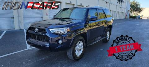 2016 Toyota 4Runner for sale at IRON CARS in Hollywood FL