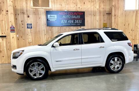 2014 GMC Acadia for sale at Boone NC Jeeps-High Country Auto Sales in Boone NC