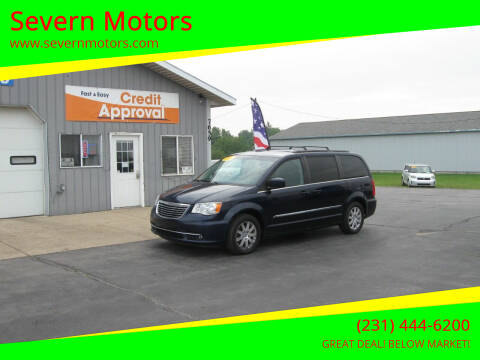 2014 Chrysler Town and Country for sale at Severn Motors in Cadillac MI