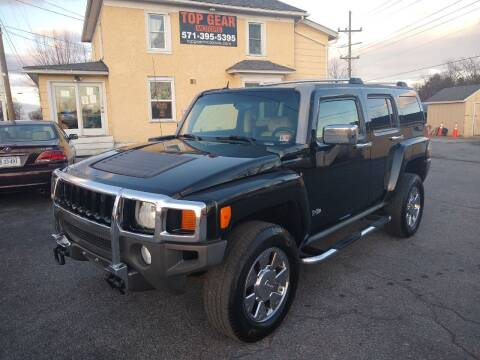 2007 HUMMER H3 for sale at Top Gear Motors in Winchester VA