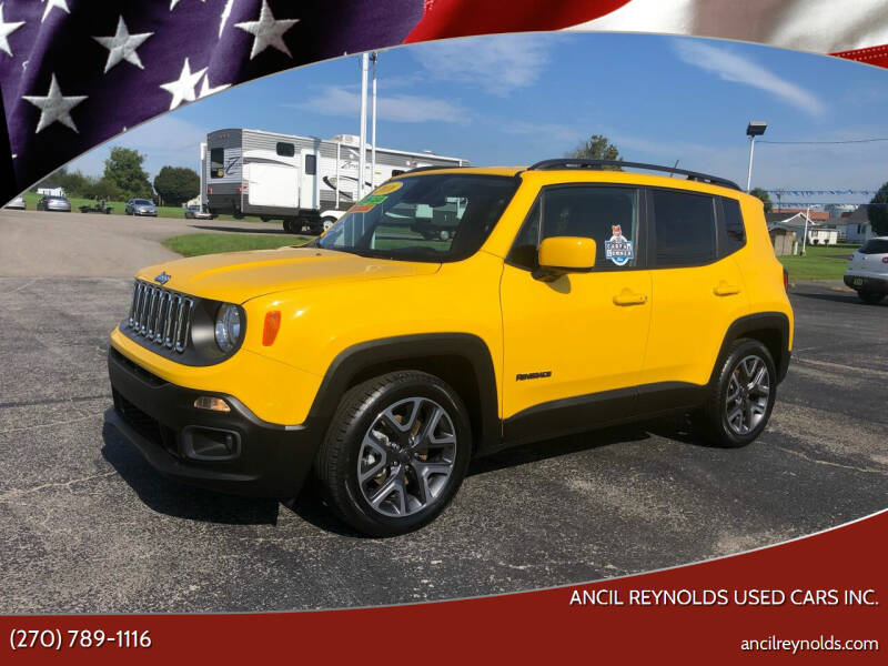 2016 Jeep Renegade for sale at Ancil Reynolds Used Cars Inc. in Campbellsville KY
