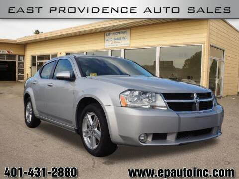 2010 Dodge Avenger for sale at East Providence Auto Sales in East Providence RI