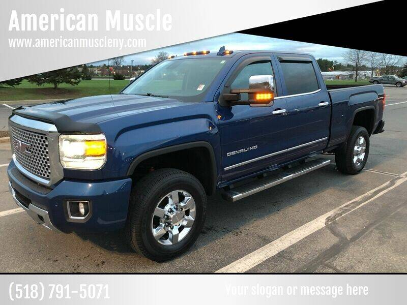 2016 GMC Sierra 3500HD for sale at American Muscle in Schuylerville NY