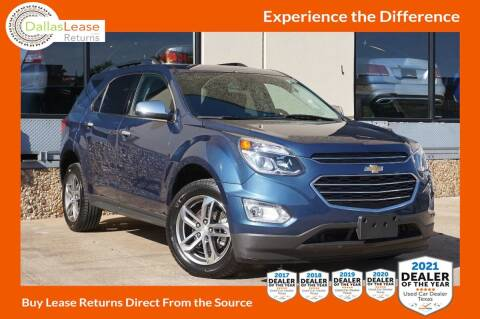 2017 Chevrolet Equinox for sale at Dallas Auto Finance in Dallas TX