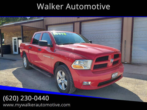 2012 RAM Ram Pickup 1500 for sale at Walker Automotive in Frontenac KS