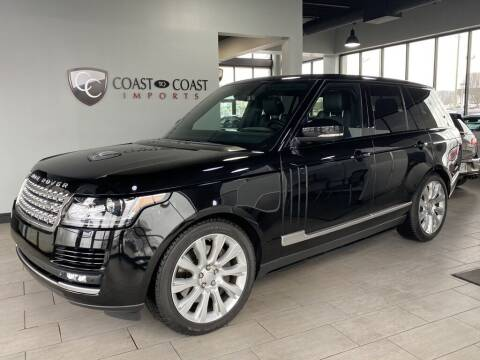 2015 Land Rover Range Rover for sale at Coast to Coast Imports in Fishers IN
