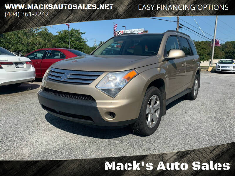 2007 Suzuki XL7 for sale at Mack's Auto Sales in Forest Park GA
