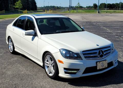 2012 Mercedes-Benz C-Class for sale at A F SALES & SERVICE in Indianapolis IN