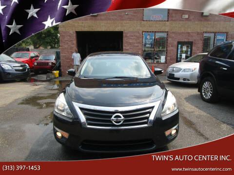 2014 Nissan Altima for sale at Twin's Auto Center Inc. in Detroit MI