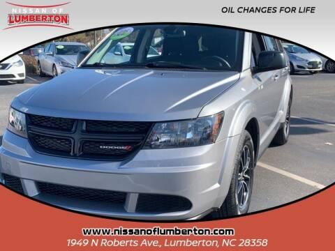 2018 Dodge Journey for sale at Nissan of Lumberton in Lumberton NC