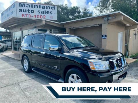 2005 Nissan Armada for sale at Mainland Auto Sales Inc in Daytona Beach FL