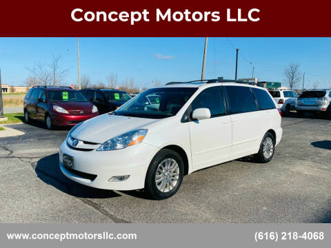 2008 Toyota Sienna for sale at Concept Motors LLC in Holland MI