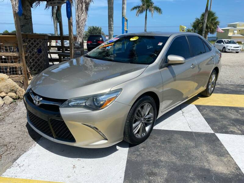 2015 Toyota Camry for sale at D&S Auto Sales, Inc in Melbourne FL