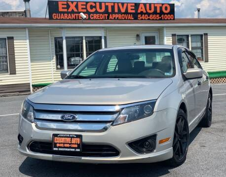 2010 Ford Fusion for sale at Executive Auto in Winchester VA