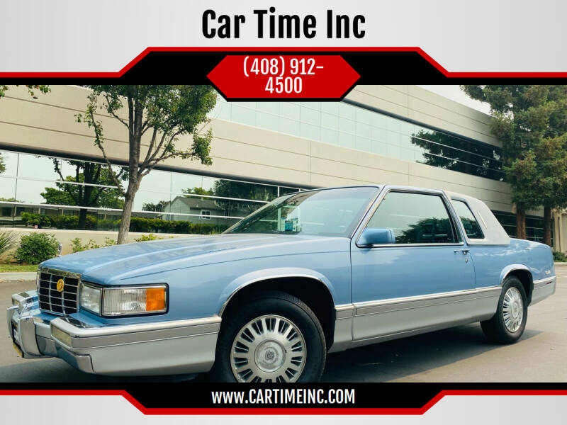 1993 Cadillac DeVille for sale at Car Time Inc in San Jose CA