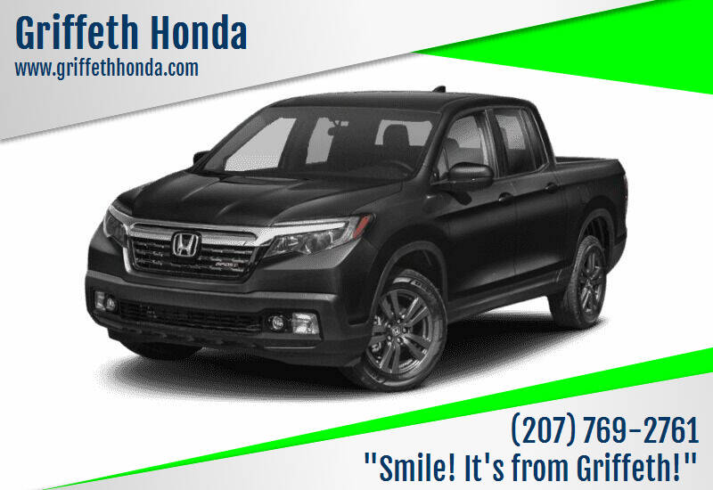 2019 Honda Ridgeline for sale at Griffeth Honda - Pre Owned in Presque Isle ME