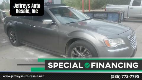 2011 Chrysler 300 for sale at Jeffreys Auto Resale, Inc in Clinton Township MI