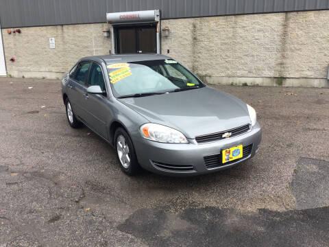 2008 Chevrolet Impala for sale at Adams Street Motor Company LLC in Boston MA