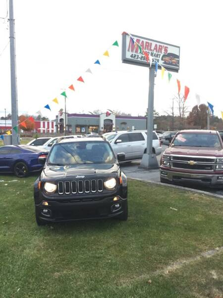 2015 Jeep Renegade for sale at MARLAR AUTO MART SOUTH in Oneida TN