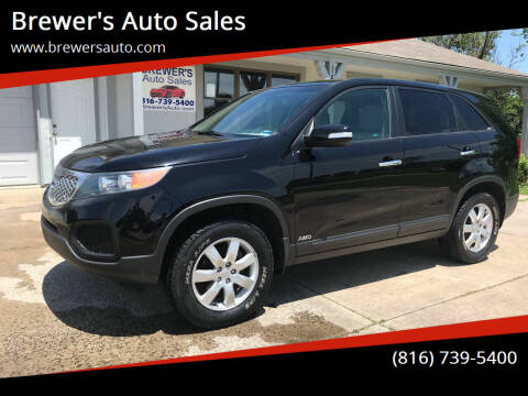 2011 Kia Sorento for sale at Brewer's Auto Sales in Greenwood MO