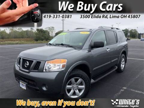 2014 Nissan Armada for sale at White's Honda Toyota of Lima in Lima OH