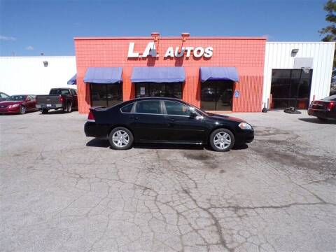 2013 Chevrolet Impala for sale at L A AUTOS in Omaha NE