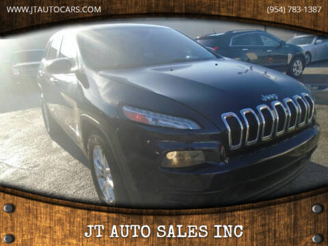 2015 Jeep Cherokee for sale at JT AUTO SALES INC in Oakland Park FL