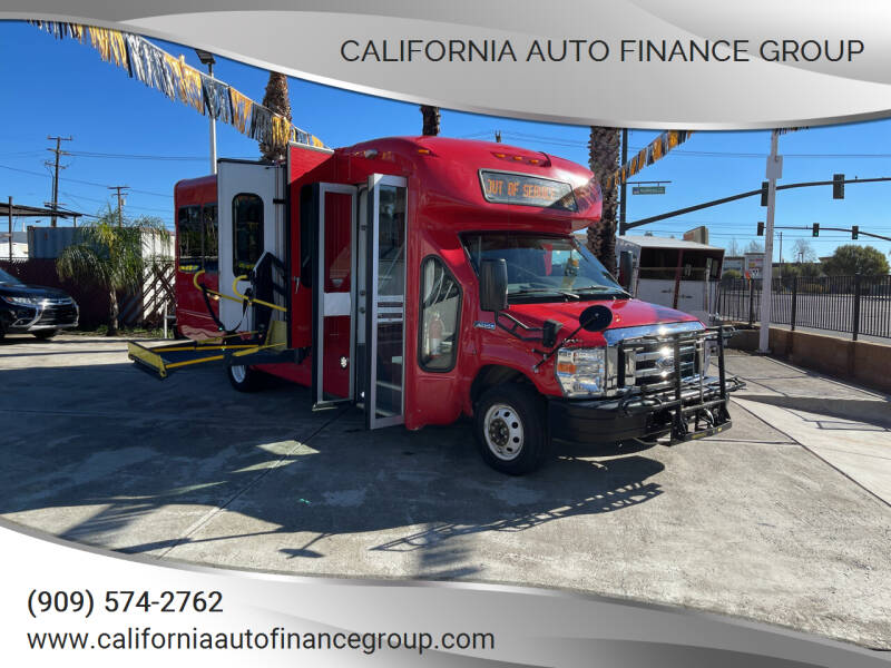 2015 Ford E-Series Chassis for sale at CALIFORNIA AUTO FINANCE GROUP in Fontana CA