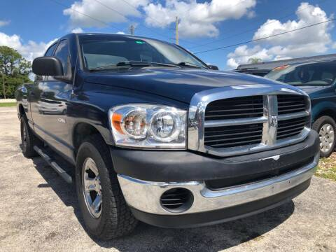 2008 Dodge Ram Pickup 1500 for sale at EXECUTIVE CAR SALES LLC in North Fort Myers FL