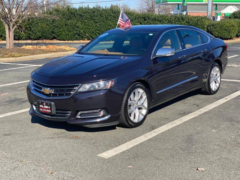 2014 Chevrolet Impala for sale at RUSH AUTO SALES in Burlington NC