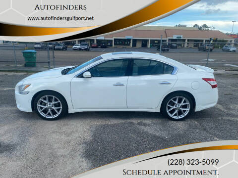 2009 Nissan Maxima for sale at Autofinders in Gulfport MS