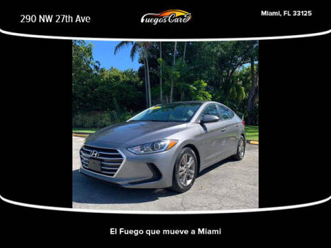 2018 Hyundai Elantra for sale at Fuego's Cars in Miami FL