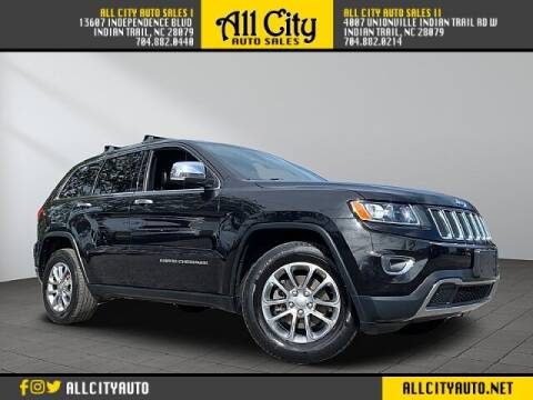 2014 Jeep Grand Cherokee for sale at All City Auto Sales in Indian Trail NC