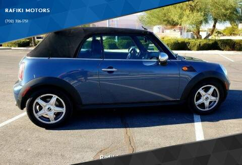 2009 MINI Cooper for sale at RAFIKI MOTORS in Henderson NV
