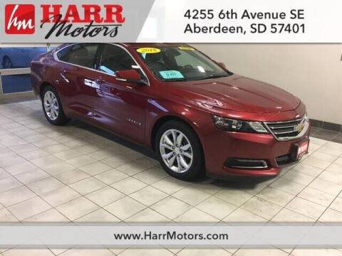 2018 Chevrolet Impala for sale at Harr Motors Bargain Center in Aberdeen SD