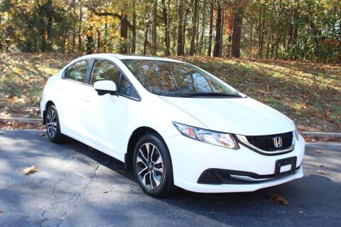 2015 Honda Civic for sale at El Patron Trucks in Norcross GA