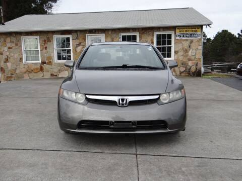 2008 Honda Civic for sale at Flywheel Auto Sales Inc in Woodstock GA