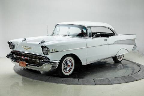 1957 Chevrolet Bel Air for sale at Duffy's Classic Cars in Cedar Rapids IA