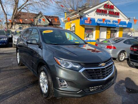 2018 Chevrolet Equinox for sale at C & M Auto Sales in Detroit MI