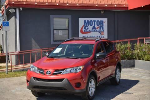 2013 Toyota RAV4 for sale at Motor Car Concepts II - Kirkman Location in Orlando FL