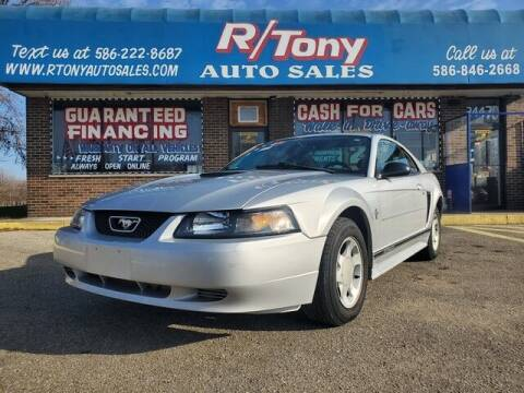 2001 Ford Mustang for sale at R Tony Auto Sales in Clinton Township MI
