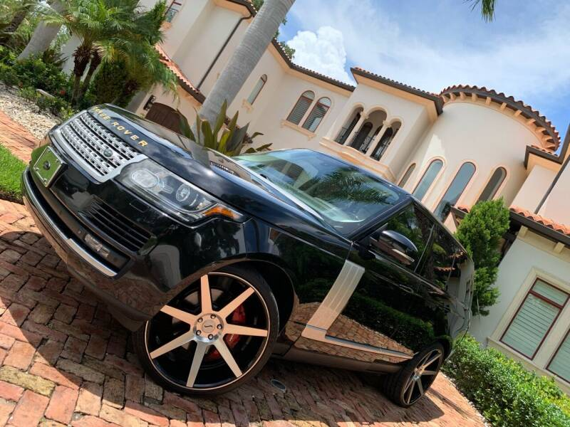 2014 Land Rover Range Rover for sale at Mirabella Motors in Tampa FL
