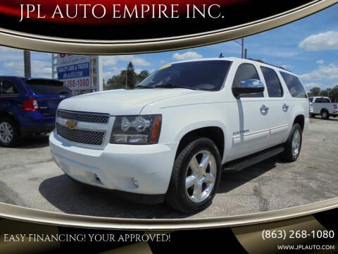 2012 Chevrolet Suburban for sale at JPL AUTO EMPIRE INC. in Auburndale FL