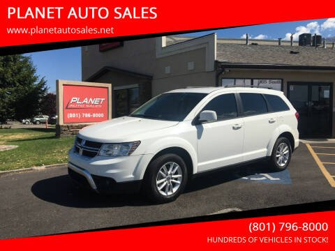 2017 Dodge Journey for sale at PLANET AUTO SALES in Lindon UT