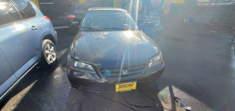 2002 Honda Accord for sale at South Street Auto Sales in Newark NJ
