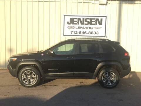 2019 Jeep Cherokee for sale at Jensen's Dealerships in Sioux City IA