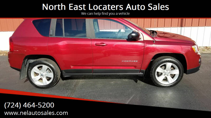2013 Jeep Compass for sale at North East Locaters Auto Sales in Indiana PA