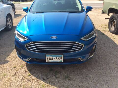 2020 Ford Fusion for sale at Kimpton Auto Sales in Wells MN