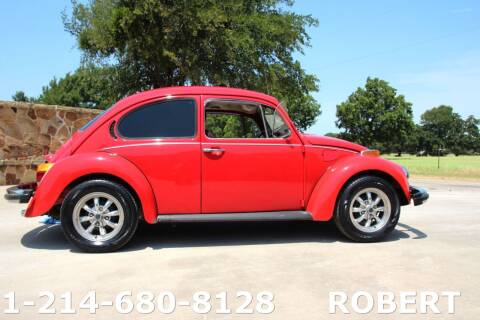 1974 Volkswagen Beetle for sale at Mr. Old Car in Dallas TX