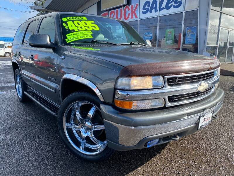 2000 Chevrolet Tahoe for sale at Xtreme Truck Sales in Woodburn OR